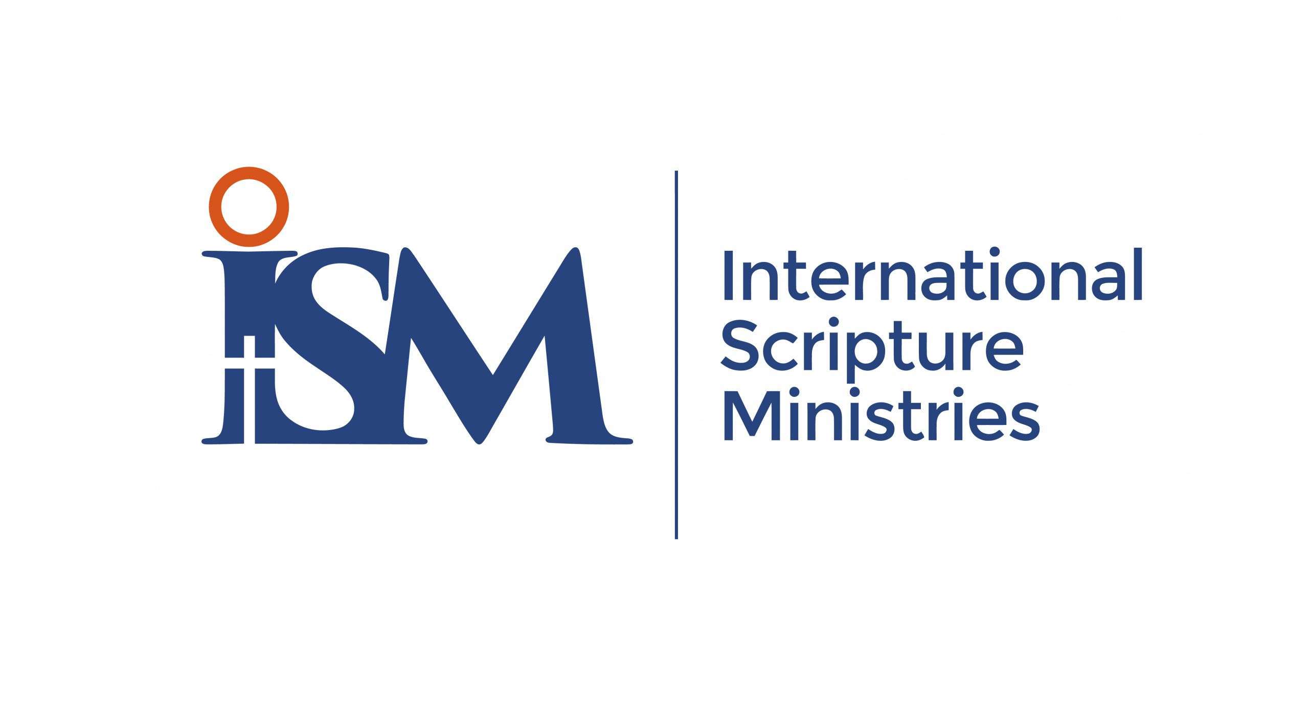 ISM Blue Logo with white background