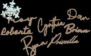 ISM TEAM Christmas Signatures